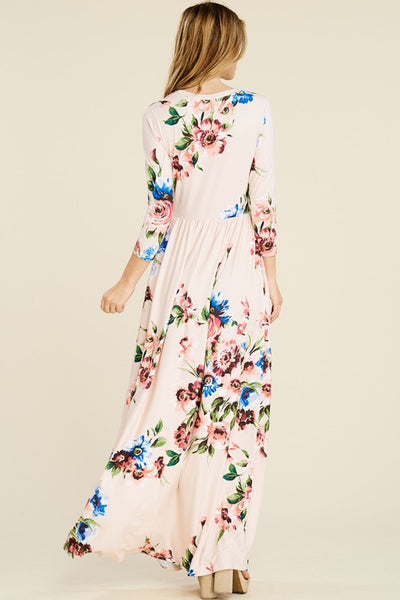 Blush Plus Size Maxi