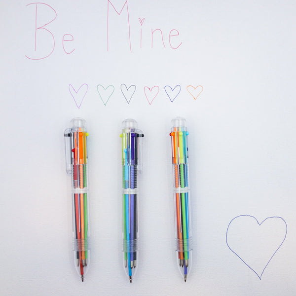 Rainbow Pens  |  6 Colors