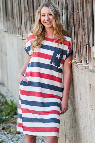 Stars & Stripe Dress