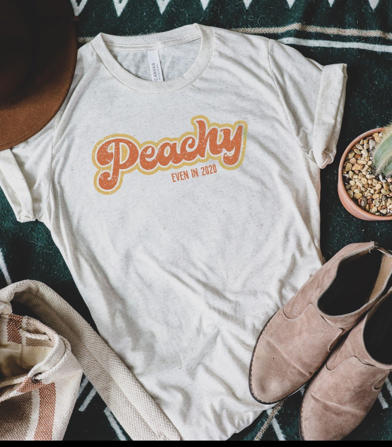 Peachy Even in 2020 Tee