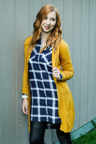 Long Pocket Cardigan  |  5 Colors