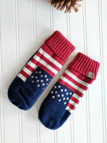 C.C. Mittens | American | Adult & Kid Sizes