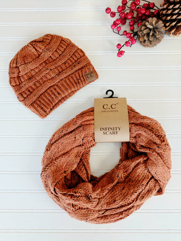 C.C. Beanies & Scarf Sets  |  C.C. Scarf & Glove Sets