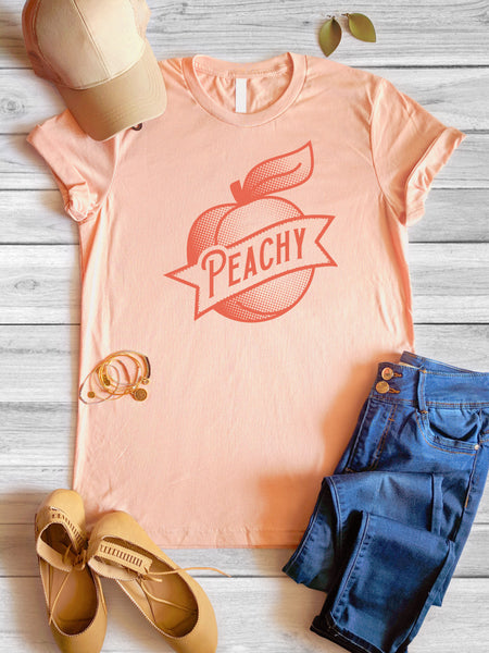 Peachy Tee | 3 Colors | XS-3X
