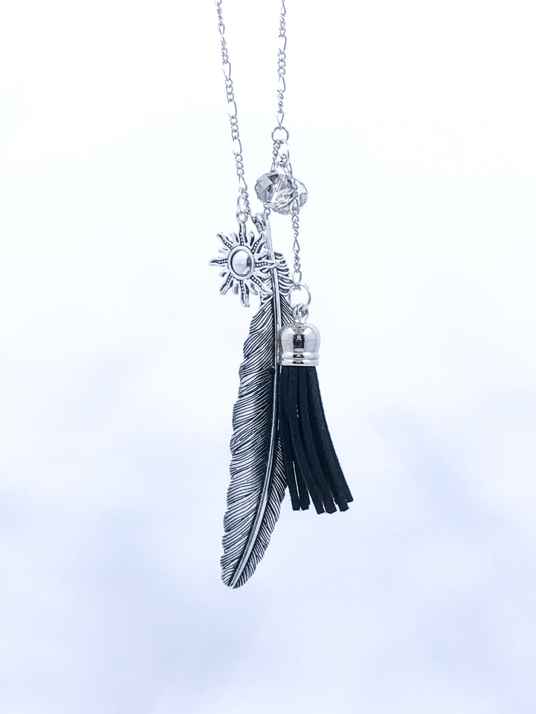 Feather Tassel Neckace