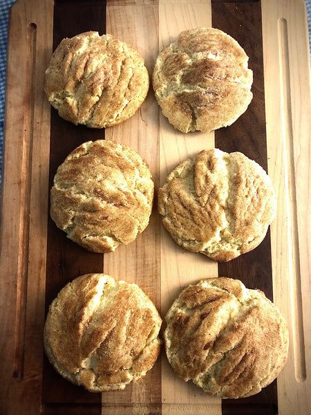 Snickerdoodle Cookies or Dough   |   Set of 6