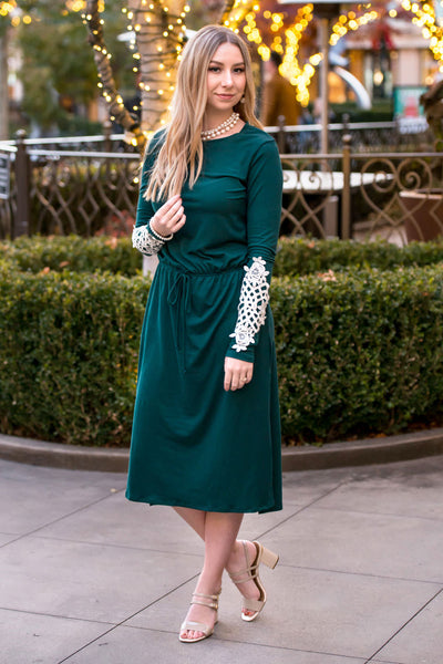 Holly Midi Dress  |  M, XL