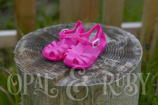 Girls Jelly Sandals