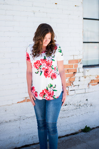 Floral Anytime Tee