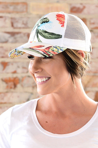 C.C. Tropical Trucker Hat  |  3 Colors