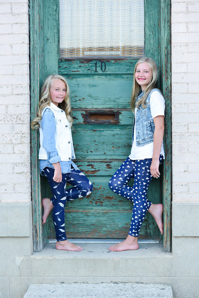 Girls Capri & Long Leggings (7 styles)