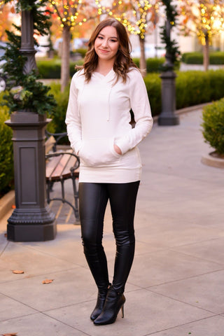 Fleece Tunic Hoodie | 3 Colors