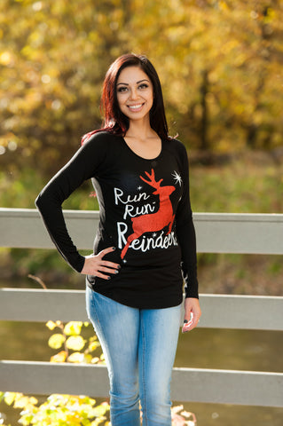 Run Run Reindeer Shirt