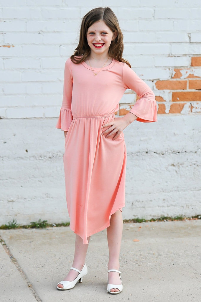 Bell Sleeve Dresses | Girls