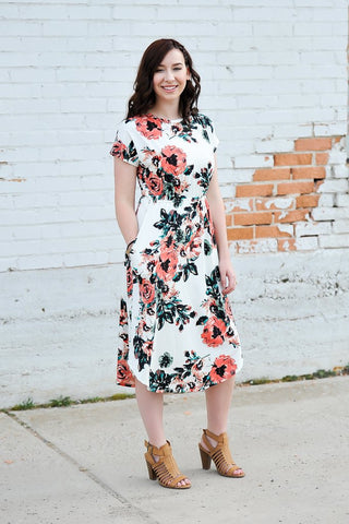 The McKenna Dress | PLUS SIZE | White