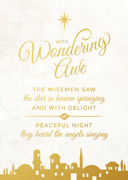 FREE Christmas Printable  |  With Wondering Awe  |  4 Colors