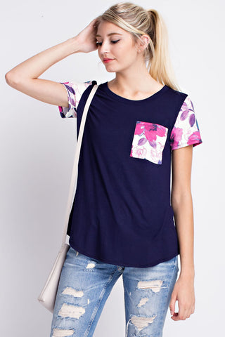 Sincerely Yours Top  |  Navy