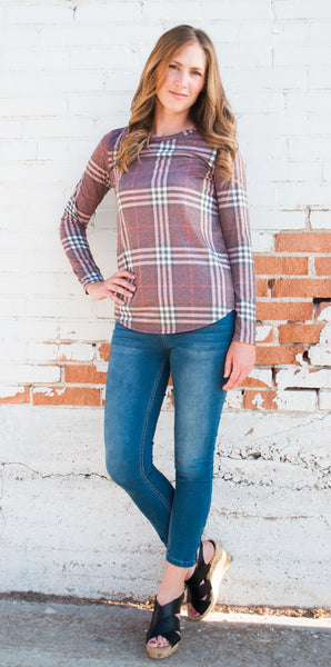 For Ever Plaid Top  |  3 Colors