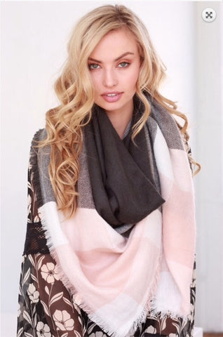 Blanket Scarves  |  4 Colors