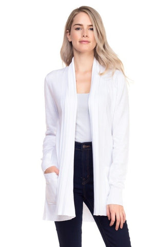 Marilyn White Cardigan