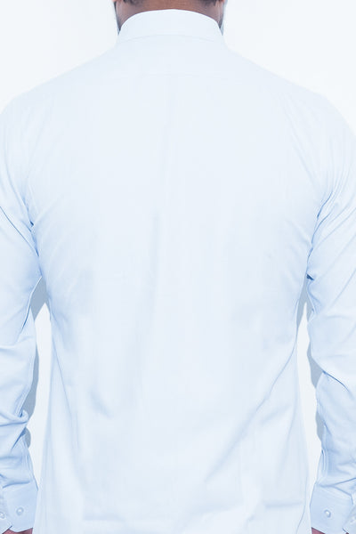 Light Blue Twill Shirt - Alexander Bironi