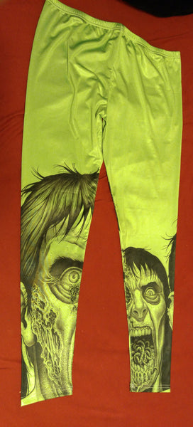 Zombie Feast Leggings | Leggings | Nu Goth & Alternative Apparel | Build Your Empire Clothing Co.