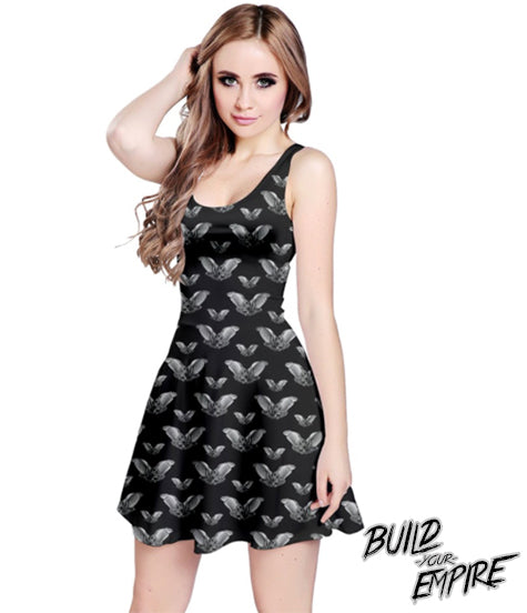 Vampire Bat Dress | Dress | Nu Goth & Alternative Apparel | Build Your Empire Clothing Co.