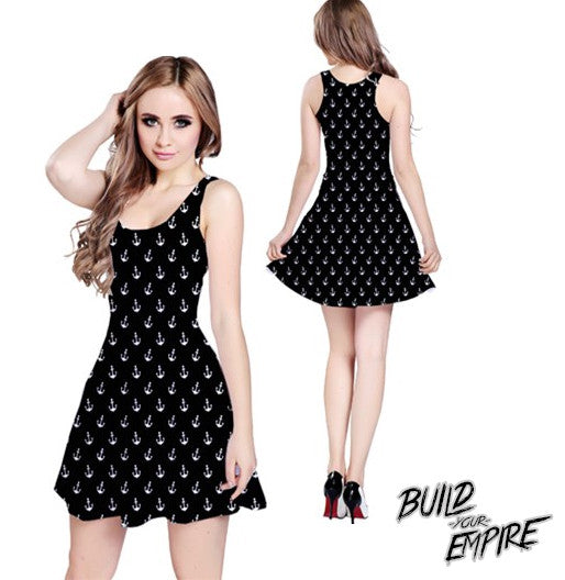 Sailor's Delight Dress | Dress | Nu Goth & Alternative Apparel | Build Your Empire Clothing Co.