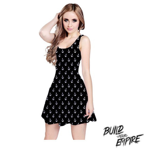 Sailor's Delight Dress - Build Your Empire Clothing Co | Nu goth & Alternative Apparel - 1