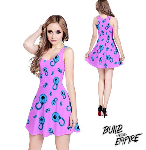 Candy Coated Eyeballs Dress | Dress | Nu Goth & Alternative Apparel | Build Your Empire Clothing Co.