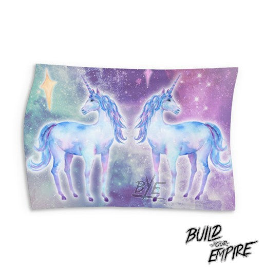 Unicorn Love Wall Tapestry (Landscape) | Tapestry | Nu Goth & Alternative Apparel | Build Your Empire Clothing Co.