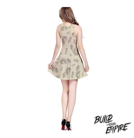 Squid Ink Tattoo Dress | Dress | Nu Goth & Alternative Apparel | Build Your Empire Clothing Co.
