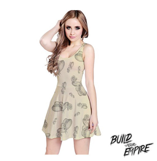 Squid Ink Tattoo Dress - Build Your Empire Clothing Co | Nu goth & Alternative Apparel - 1