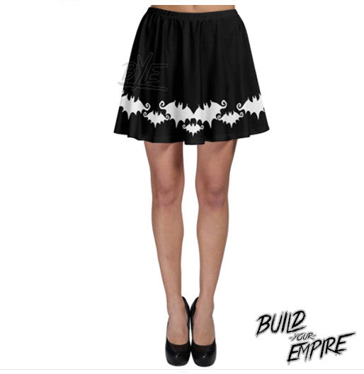 Bat Babe Skirt | Skirt | Nu Goth & Alternative Apparel | Build Your Empire Clothing Co.