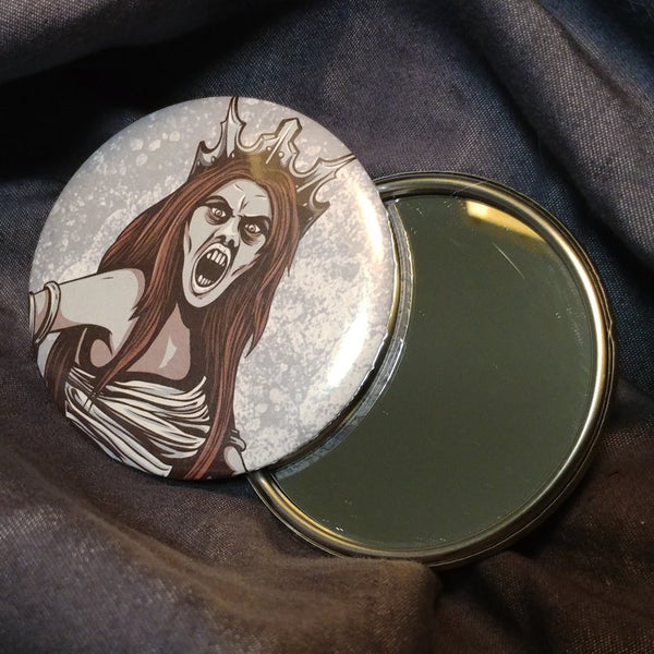 Sea Queen Pocket Mirror | Mirror | Nu Goth & Alternative Apparel | Build Your Empire Clothing Co.