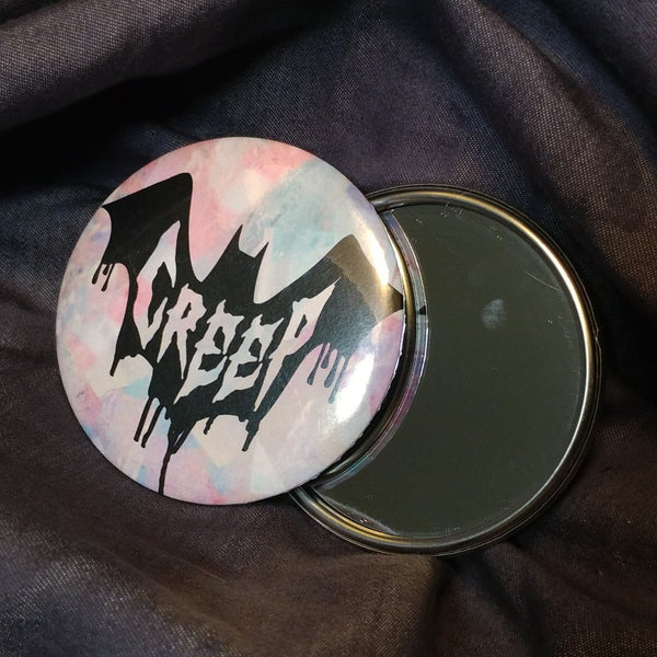 Creep Pocket Mirror | Mirror | Nu Goth & Alternative Apparel | Build Your Empire Clothing Co.