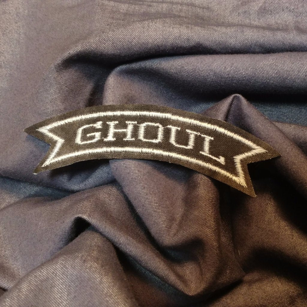 Ghoul Banner Patch | patch | Nu Goth & Alternative Apparel | Build Your Empire Clothing Co.