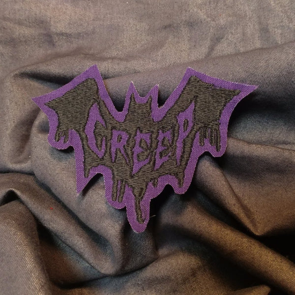Creep Bat Patch | patch | Nu Goth & Alternative Apparel | Build Your Empire Clothing Co.