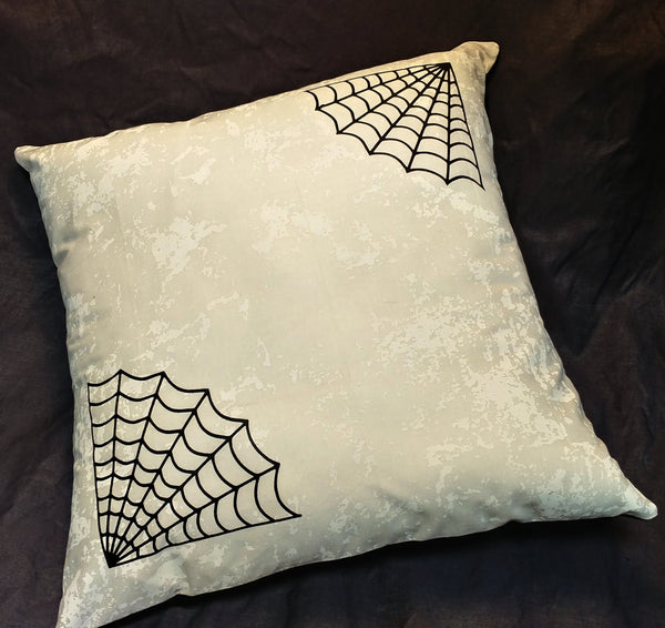 Nobody Puts Spider in the Corner Pillow Case | Pillow | Nu Goth & Alternative Apparel | Build Your Empire Clothing Co.