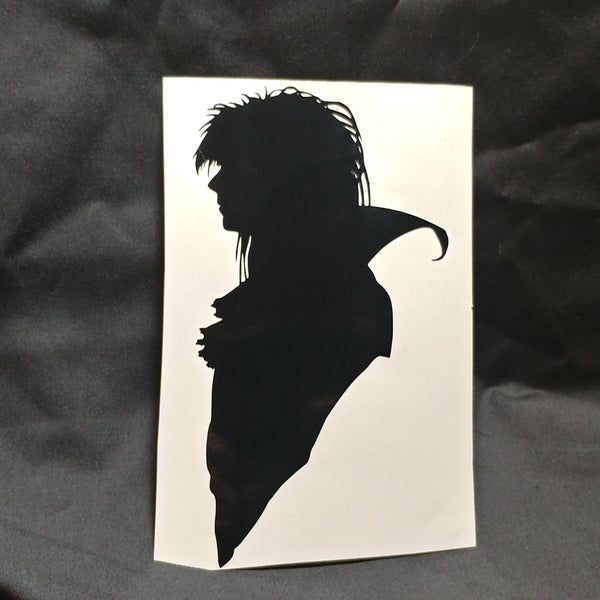 Goblin King Vinyl Decal Sticker | Sticker | Nu Goth & Alternative Apparel | Build Your Empire Clothing Co.