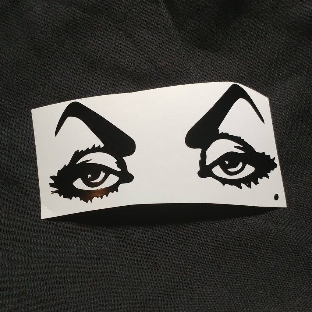 Vampire Babe Vinyl Decal Sticker | Sticker | Nu Goth & Alternative Apparel | Build Your Empire Clothing Co.