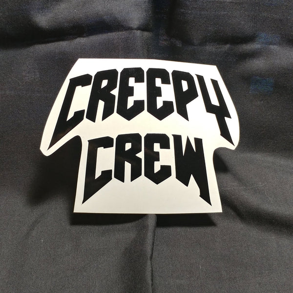 Creepy Crew Vintage Vinyl Decal Sticker | Sticker | Nu Goth & Alternative Apparel | Build Your Empire Clothing Co.