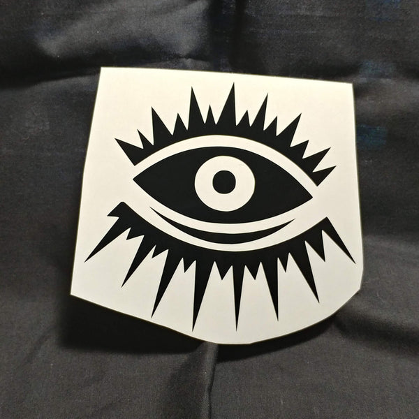 All Seeing Eyes V2 Vinyl Decal Sticker | Sticker | Nu Goth & Alternative Apparel | Build Your Empire Clothing Co.