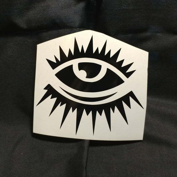 All Seeing Eyes Vinyl Decal Sticker | Sticker | Nu Goth & Alternative Apparel | Build Your Empire Clothing Co.
