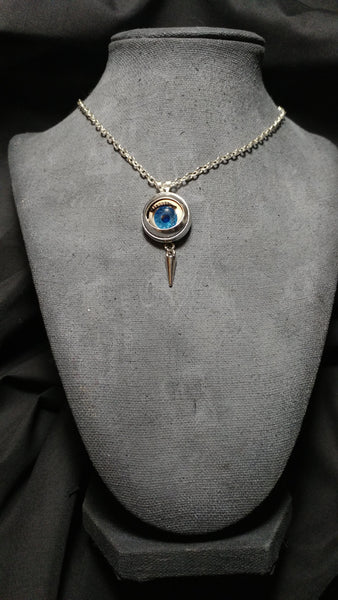 Eye Spike Frame Necklace | Necklace | Nu Goth & Alternative Apparel | Build Your Empire Clothing Co.