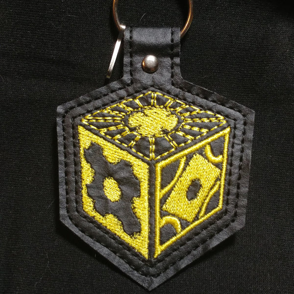 Puzzle Box Keychain | Keychain | Nu Goth & Alternative Apparel | Build Your Empire Clothing Co.