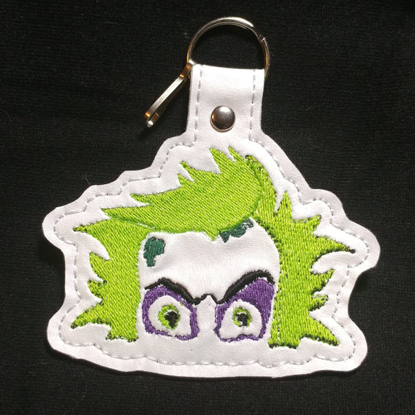 Beetlejuice Keychain | Keychain | Nu Goth & Alternative Apparel | Build Your Empire Clothing Co.