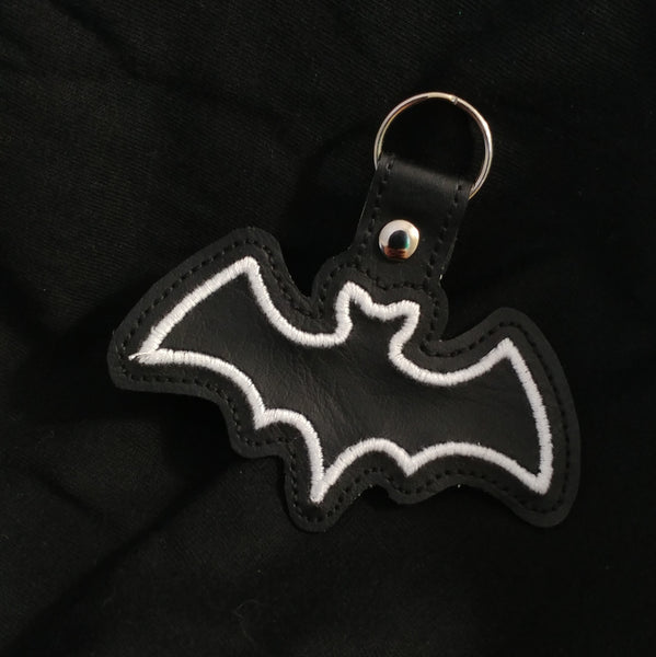 Black Bat Keychain