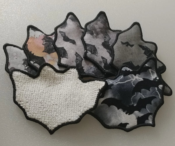 Bat Microfibre Face Scrubby Set