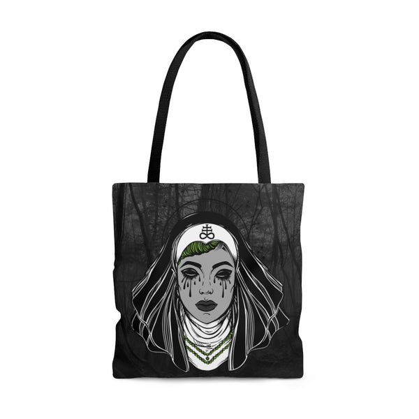 Satanic Sinner Tote Bag | Tote Bag | Nu Goth & Alternative Apparel | Build Your Empire Clothing Co.
